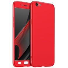 3 in1 Full Cover Case For OPPO A57 Red - intl