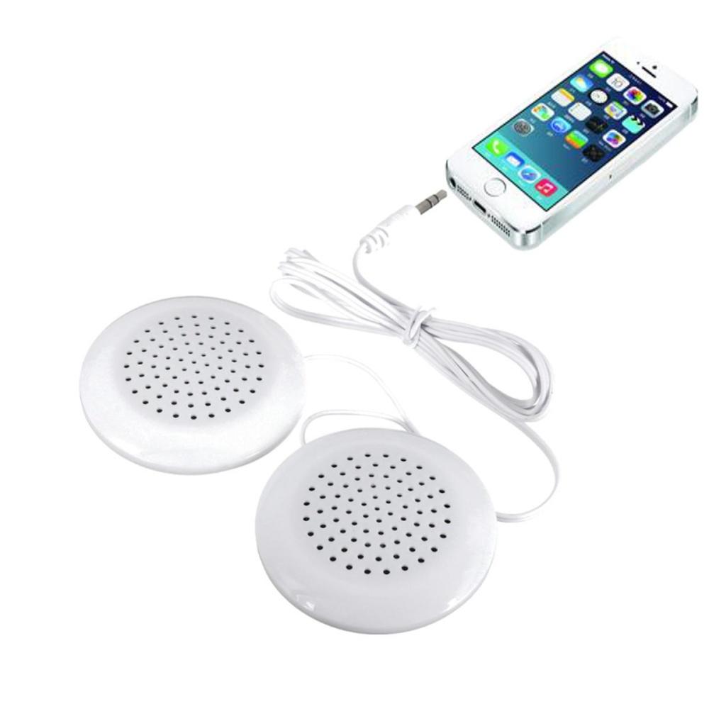 3.5mm Music Neck Pillow Stereo Mini Speaker for iPhone 7 7PLUS 6 .