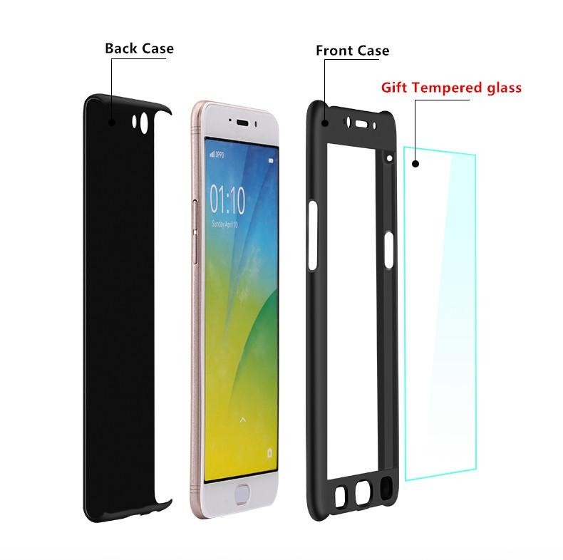 360 Full Body Coverage Protection Hard Slim Ultra-thin Hybrid CaseCover &