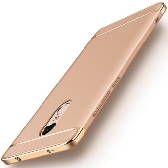 3in1 Ultra-thin Electroplated PC Back Cover Case for Xiaomi Redmi Note 4X 3gb RAM/16gb or 32gb ROM - intl