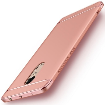 3in1 Ultra-thin Electroplated PC Back Cover Case for Xiaomi RedmiNote 4X 4gb RAM/64gb ROM 4gb RAM/64gb ROM - intl