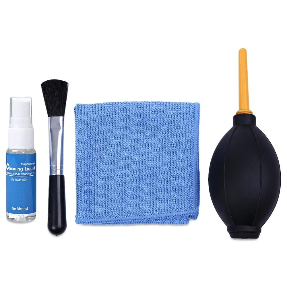 ... 4-in-1 Brush / Cloth / Air Blower / Liquid Lens Cleaner Kit ...