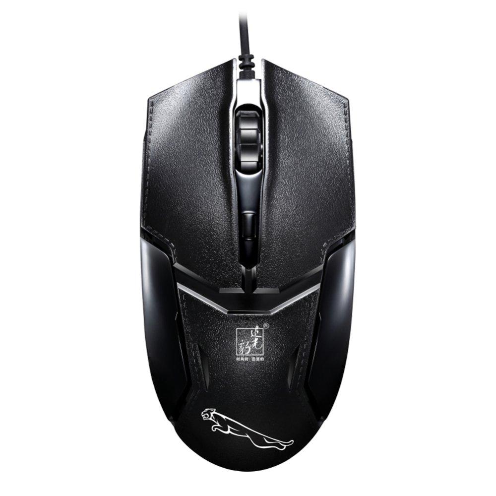 ... 4000 dpi optik mouse Gaming kabel USB (hitam) ...