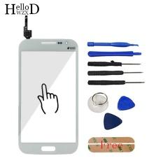 4.7 Inch Touch Front High Glass Screen Digitizer Panel untuk Samsung GALAXY Win GT-i8552 GT-i8550 I8552 I8550 8552 8550 Lensa Sensor FLEX Cable + Free Alat Perekat (Putih) -Intl