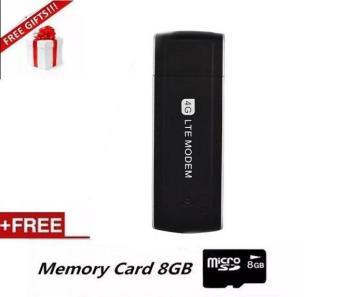 4G USB Modem with SIM Card Slot Unlock Universal Portable 100Mbps4G/3G Dongle Modem - intl