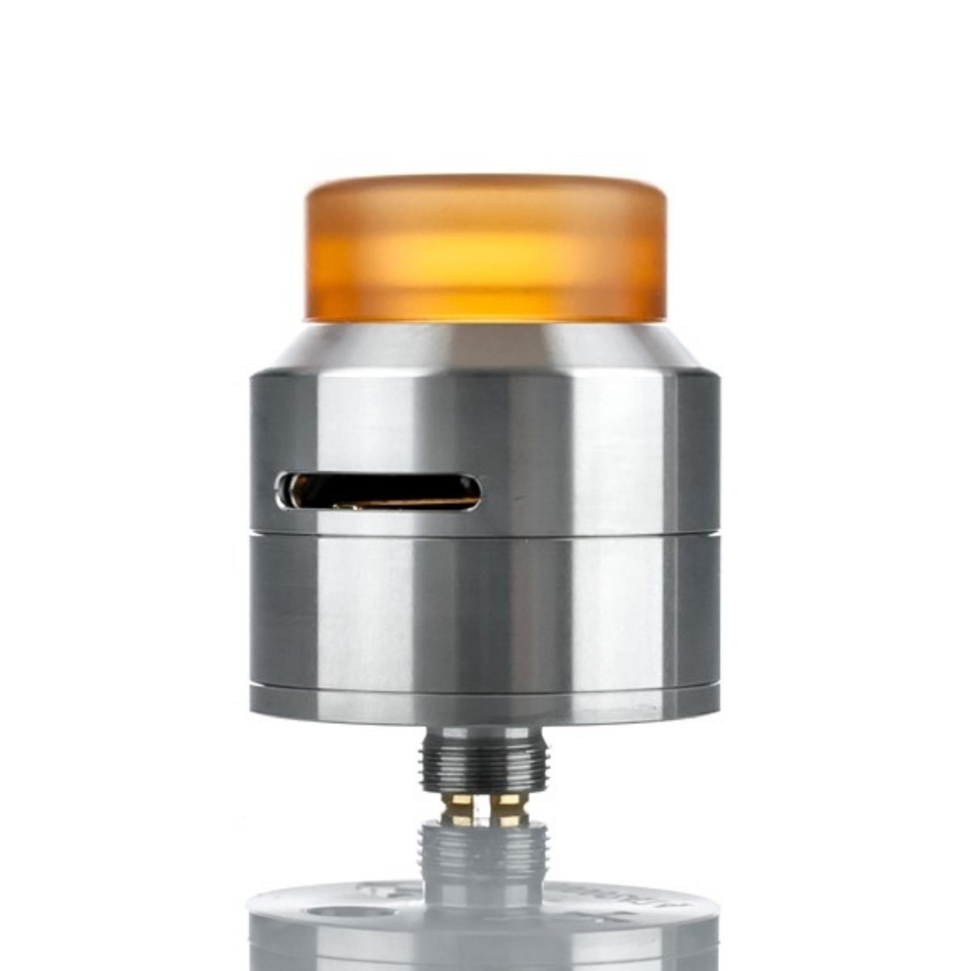 528 Custom Goon RDA LP Atomizer Rokok Elektrik 24 MM - Silver