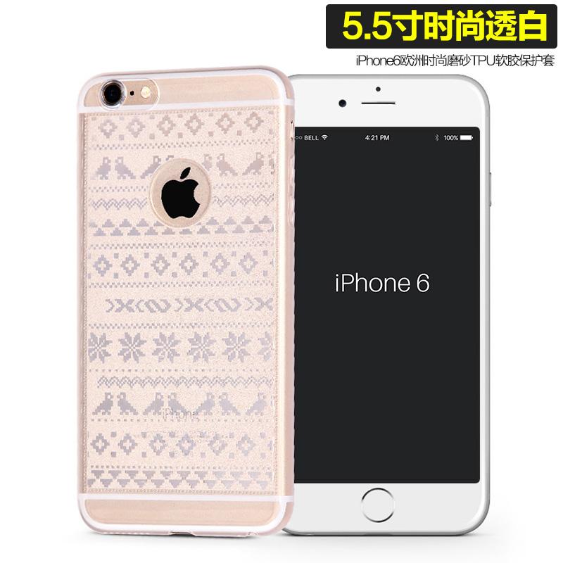 6 plus/iphone6s silikon transparan menjatuhkan Drop baru pelindung lengan handphone shell