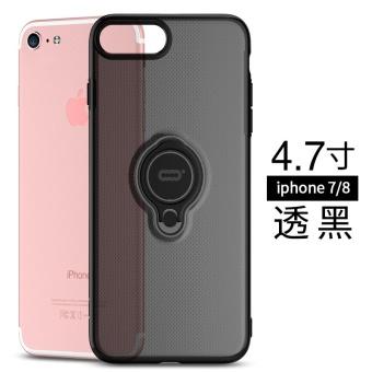 Beli 6 Splus/iphone6 transparan sabuk cincin gesper holder lengan pelindung handphone shell Online