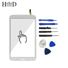 8.0 Inch Tablet Touch Front High Glass Screen Digitizer Panel untuk Samsung Galaxy Tab 3 Lite