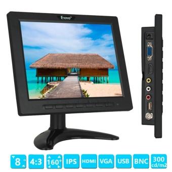 """8"""" 808H Portable Digital IPS LCD Monitor 1024*768 VGA ."""