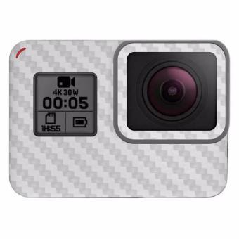 9Skin - Premium Skin Protector untuk Case GoPro Hero 5 - CarbonTexture - Putih
