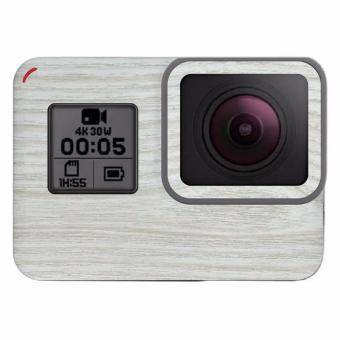 9Skin - Premium Skin Protector untuk Case GoPro Hero 5 - WoodTexture - Putih