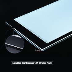 A4 35.2 * 24cm 15 inch LED Artist Stencil Board Tattoo Drawing Tracing Table Display Light