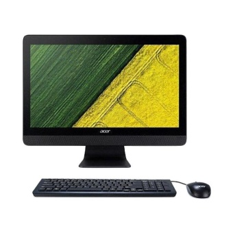 "Acer Aspire AIO PC C20-220 All In One PC [AMD E1-7010 / 2GB DDR3 / 500GB HDD / Non OS / 19.5"" / Black]"
