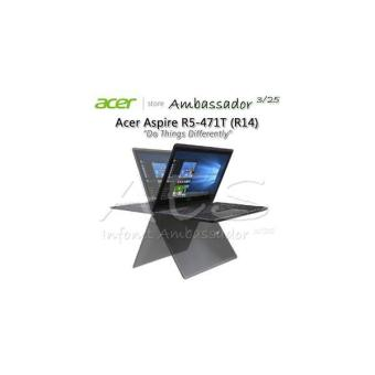 Acer Aspire R5-471t (R14) Core I7-6500u Windows10 Fhd Touchscreen