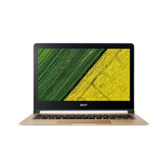 Spesifikasi Acer SWIFT 7 SF713-51-M7ZK - GOLD [Intel Core i7-7Y75/8GB/512GB SSD/INTEL HD615/13.3