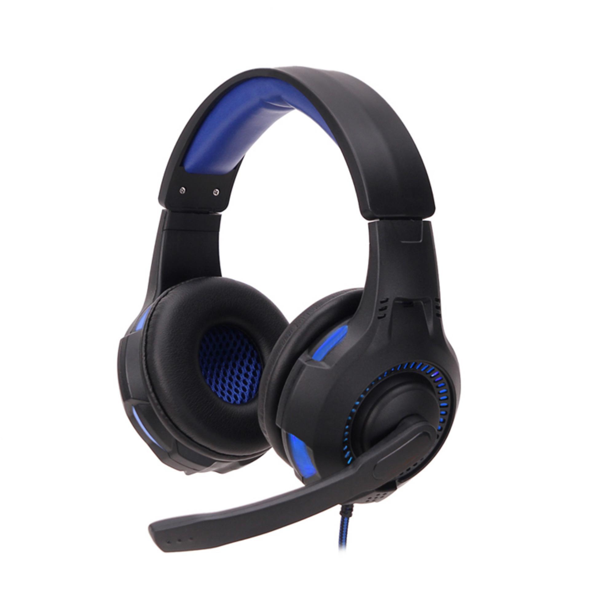 Berpijar kucing telinga Headphone Headset Headphone dengan permainan cahaya LED untuk PC komputer .