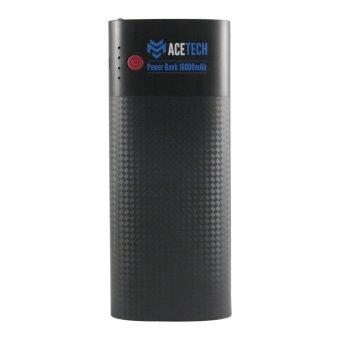 ACETECH Power Bank 16000mAh 3-Port USB Hitam .