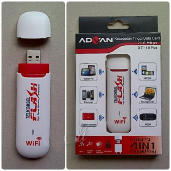 thumbs Advan Modem 3G USB DT-10Plus Original - 4 In One .