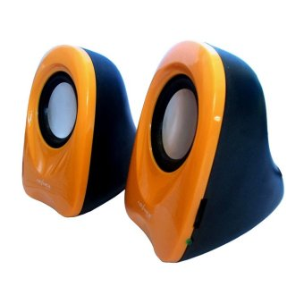 Gambar Advance Speaker USB Duo 01 Orange