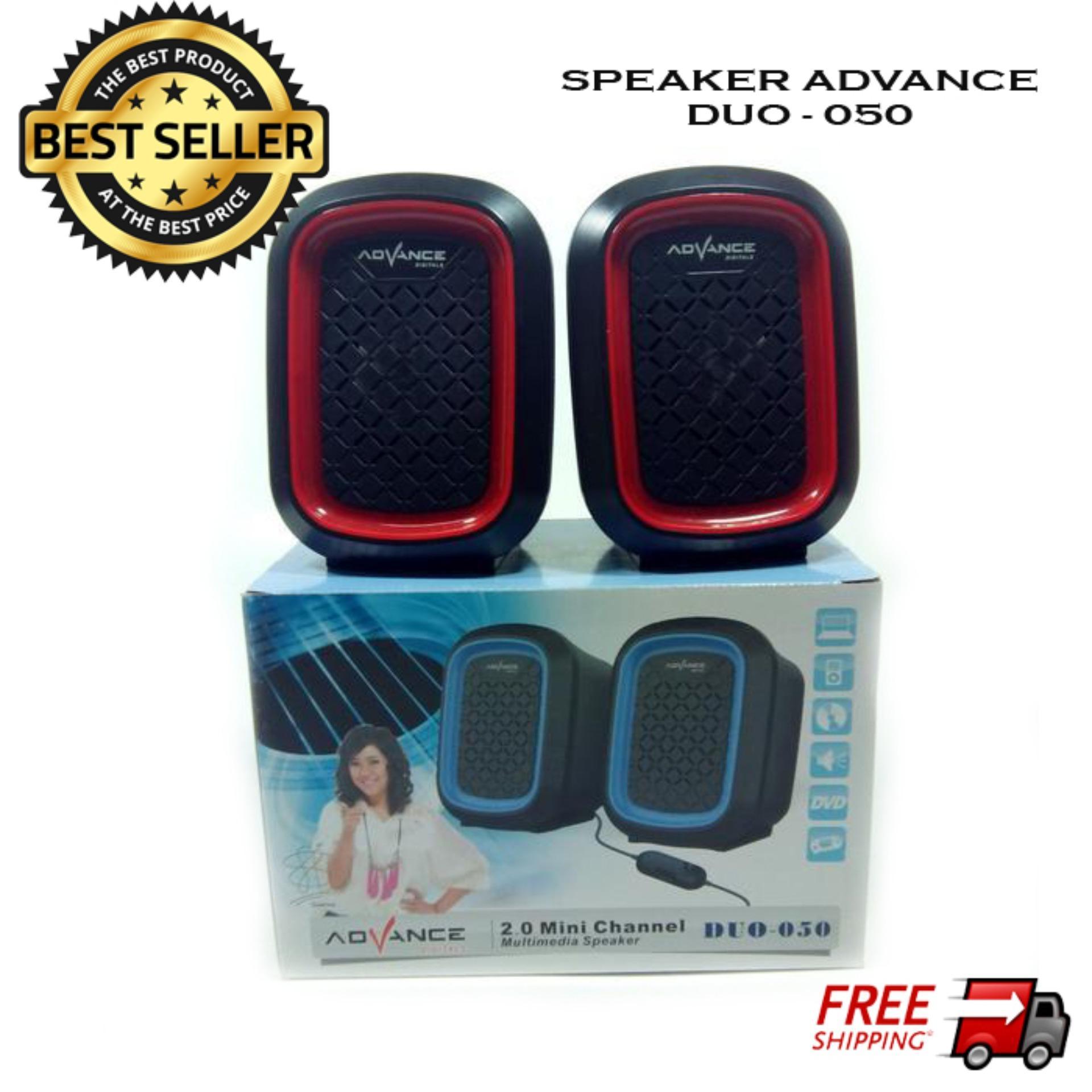 ... Review Advance Speaker Usb Duo 300 Hitam Biru Paling Mudah Source Advance