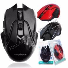 Advance WM501D Mouse Wireless 6D - Hitam