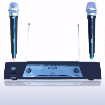 harga Aiwa AW 89 Microphone Double Wireless UHF - Hitam Lazada.co.id