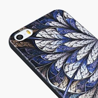 AKABEILA 3D Painted Pattern Coloured Drawing TPU Soft Phone CoverFor Apple iPhone 5 5S Case 4.0 inch For Apple iPhone SE 5G 5 5S 6CPhone Cases - intl - 2
