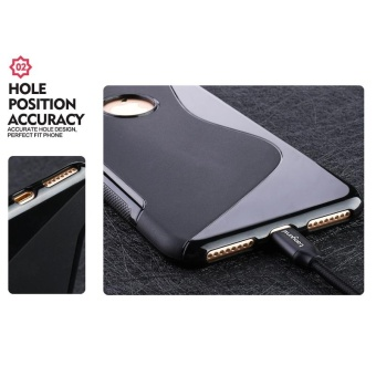 AKABEILA for Sony Xperia M2 Sline TPU Silicone Back Cover for SonyS50H D2303 D2305S Line Soft Phone Case Black Simple Mobile PhoneBags Cases - intl - 5
