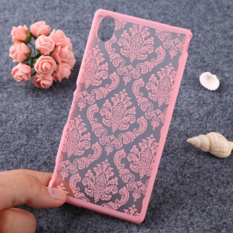 AKABEILA Hollow Flower Phone Cases for Sony Xperia M4 Aqua E2303 E2353 5.0 inch E2306 Hard Plastic Phone Back Covers Case Bag Housing Protector Shell Hood Dual E2333 E2363 E2312 - intl - 5