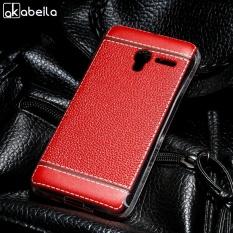 AKABEILA Lembut TPU Ponsel Cover Kasus untuk Alcatel OneTouch Pixi 3 4.5 Inch (hanya untuk 4g Versi) 5017D 5019D One Touch Pixi3 OT 5017X/5017/5017A/5017E 5019 Meliputi Litchi Phone Silicone Hood Perumahan Kembali-Internasional
