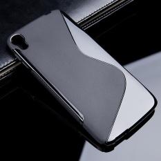 AKABEILA S Line Back Cover Case untuk Alcatel OneTouch Idol 3 5.5 Inch Lembut Silicone Ponsel Kasus untuk 6045 OT-6045 OT6045 6045Y 6045 K Sline TPU Shell Bumper-Internasional