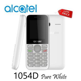 0 Alcatel 1054D Pure White Garansi Resmi