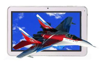 Aldo Tablet T 72 3G - Putih