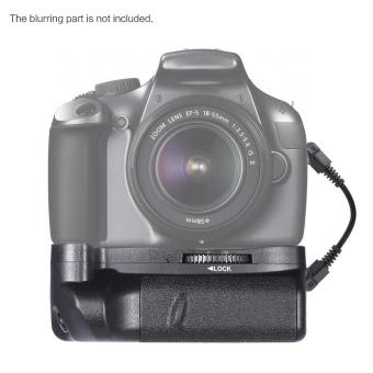 Andoer BG-1H Vertical Grip Compatible with 2 * LP-E10 for Canon EOS 1100D 1200D 1300D / Rebel T3 T5 T6 / kiss X50 X70 DSLR Cameras - intl - 3