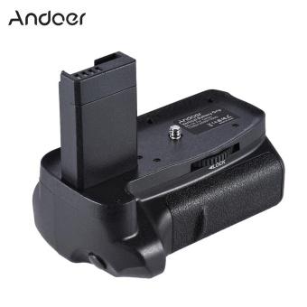 harga Andoer BG-1H Vertical Grip Compatible with 2 * LP-E10 for Canon EOS1100D 1200D 1300D / Rebel T3 T5 T6 / kiss X50 X70 DSLR Cameras -intl Lazada.co.id