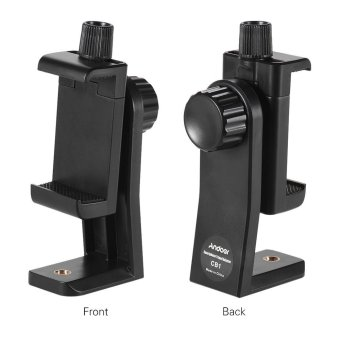 Andoer CB1 Plastic Smartphone Clip Holder Stand Support Clamp Frame Bracket Mount for iPhone 7/7s/6/6s for Samsung Huawei Cellphone Selfie Portrait Outdoor Video Outdoorfree - intl - 4