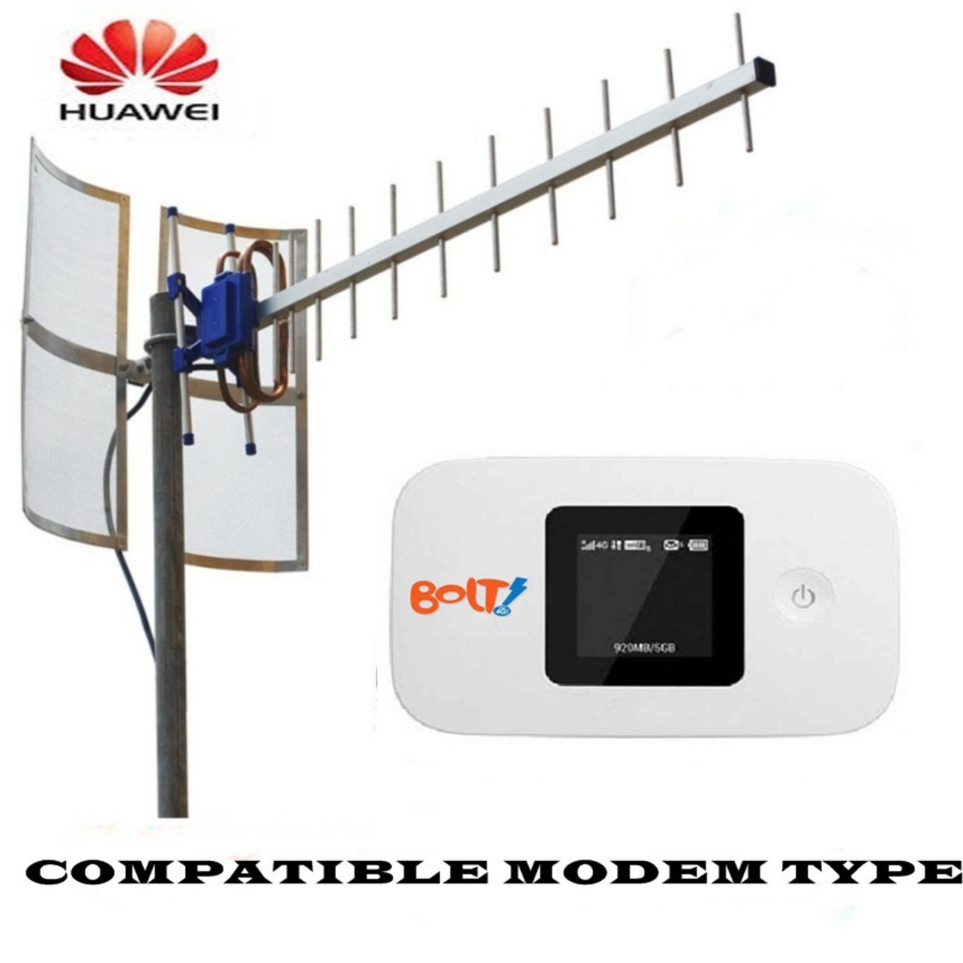 ... Antena Yagi Untuk Modem Huawei E5577 (Bolt Slim2/Max2) TripleDriven TXR 185 ...