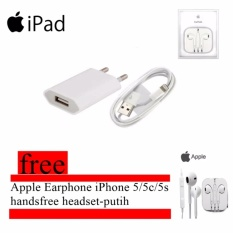Apple Charger iPhone 5/5C/5S/6/6 Plus dan Cable Data
