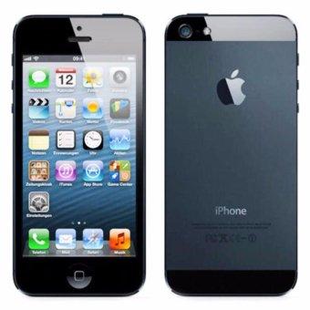harga Apple iPhone 5 16 GB Smartphone - Black+Free Tempered Glass Lazada.co.id