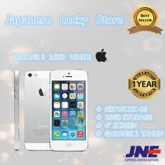 APPLE IPHONE 5 - 16GB - WHITE - 4G LTE - GRADE A++