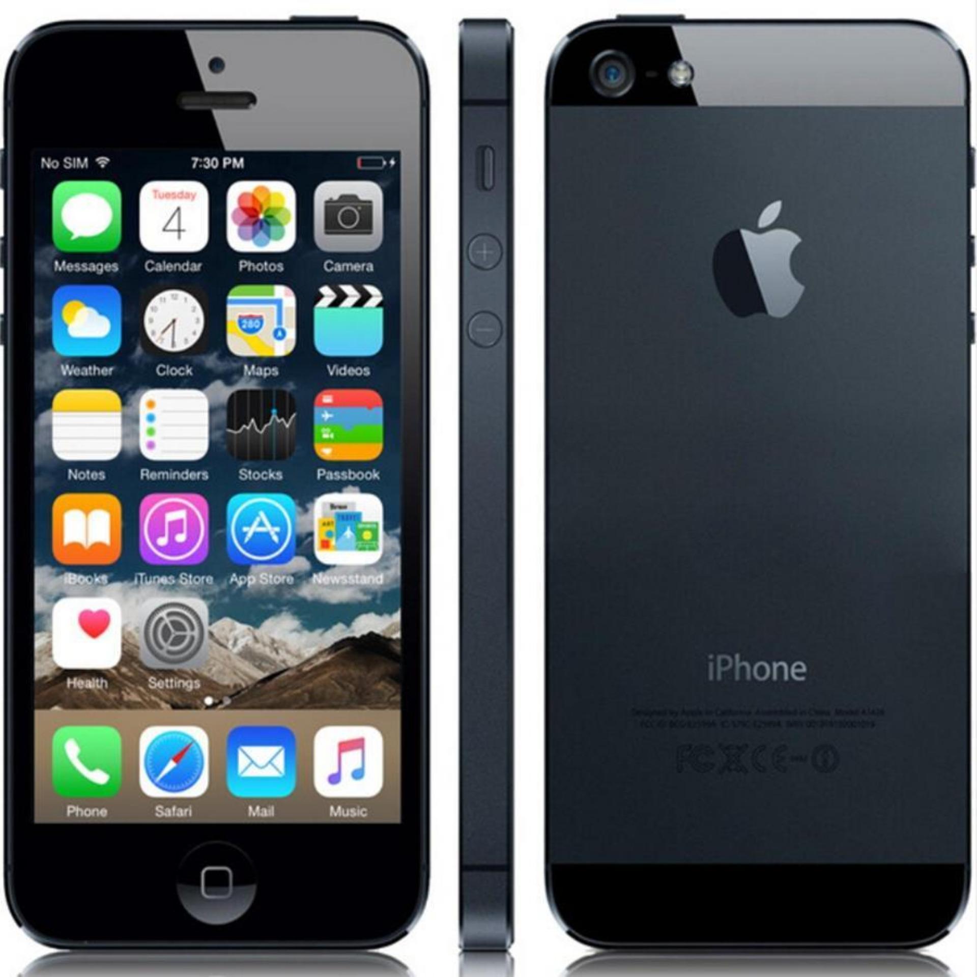 Certified refurbished apple iphone 5 64gb putih grade a daftar apple iphone 5 32 gb grade a reheart Gallery