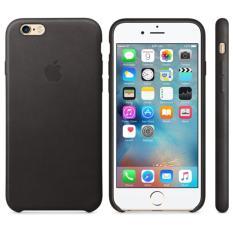 Apple Leather Case iPhone 6 / 6s - Black