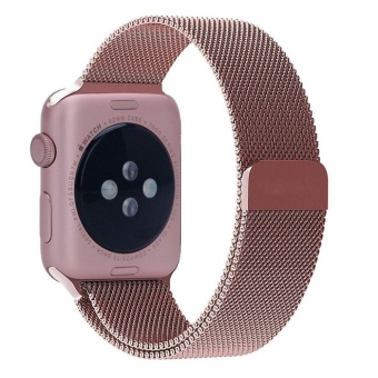 Gaktai Replacement Milanese Magnetic Loop Stainless Steel Strap Source Apple Watch Band 38mm .