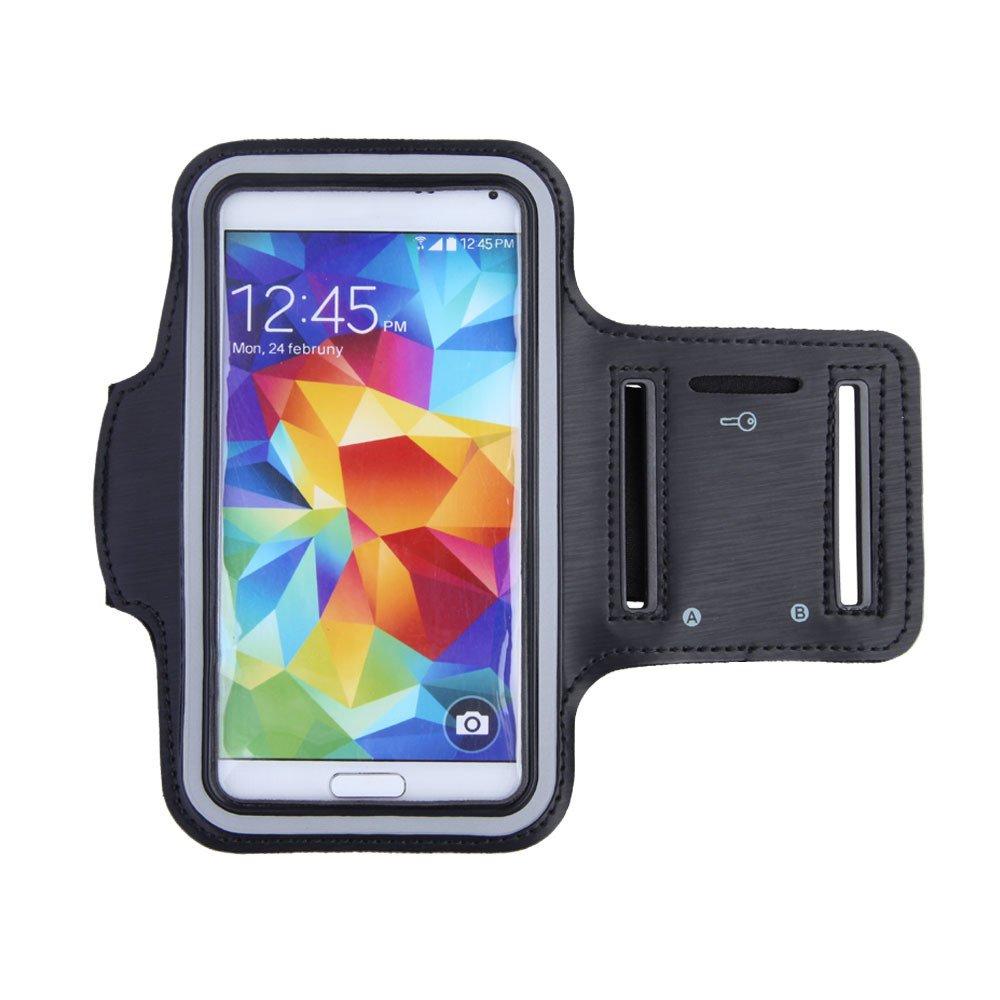 Ponsel tahan air sel pita pelindung olahraga lari kasus pemegangsabuk tas ruang olahraga lengan band untuk