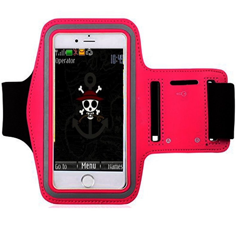 Armband Safetycase For Lenovo A7000 plus - Magenta .