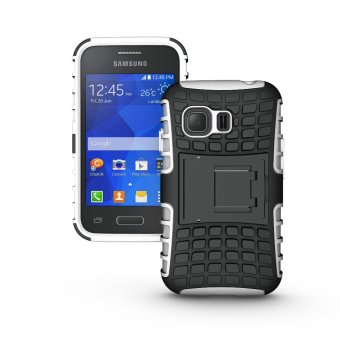 Periksa Peringkat Armor Case Tough Dual Layer 2 In 1 Rugged Rubber Hybrid Hard/SoftDrop