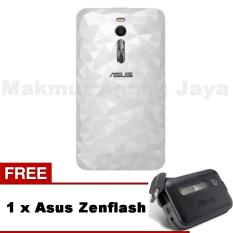 Asus Illusion Case Zenfone 2 ZE551ML - White/Putih + Free ASUS Zenflas