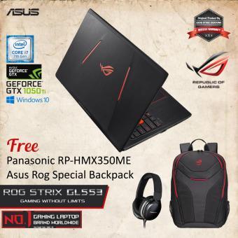 Asus ROG STRIX GL553VE-FY117T With Intel Core i7-7700HQ NvidiaGTX1050Ti .