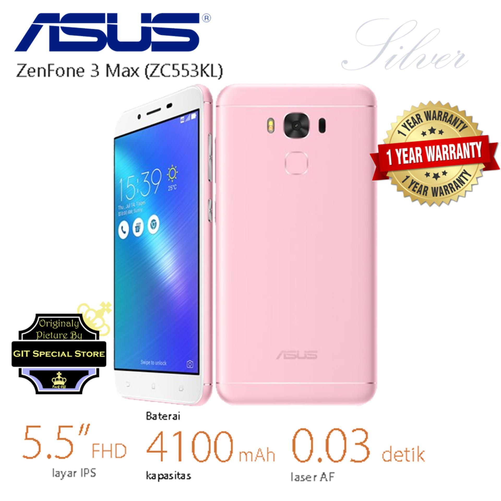 Harga Diskon Asus Zenfone 4 Selfi 64gb Zd553kl Black 3 Laser Zc551kl Garansi Resmi Mode Max Zc553kl 32gb Pink 55 Inches Dual Simcard